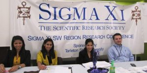 Two undergraduate Quinnipiac students attended the Sigma Xi Student Research Conference in North Carolina this past weekend.