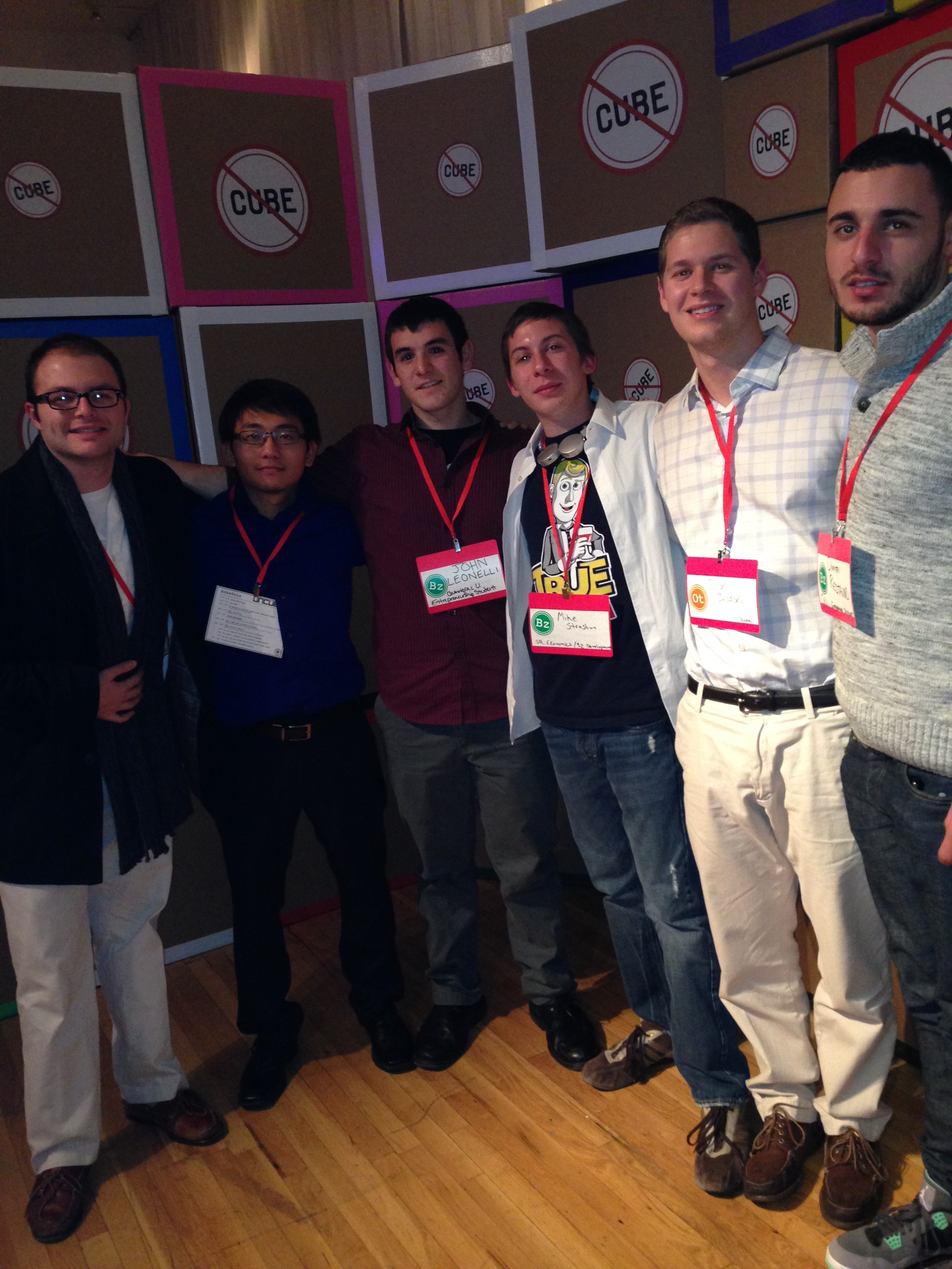 ... , and his fellow entrepreneur classmates, attended Uncubed in NYC