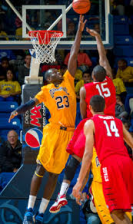 """Ousmane Drame's Journey from Guinea to Quinnipiac"" was written by Mike Anthony on Feb. 14th."