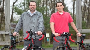 Anthony Allen And Alex Soucy to bike across U.S.