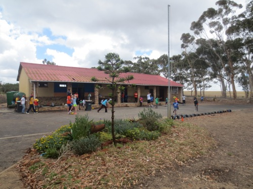 Vaatjie Primary School is located in Atlantis, a province approximately 30 minutes outside of Cape Town city center.