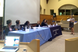 The Computer Information Systems Society (CISS) and Information Services co-hosted The Women in Technology Panel Discussion.